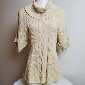 Calvin Klein Jeans Cable Knit Sweater Cream Small